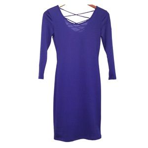 🌺3/$22🌺 NWT  Forever 21 royal blue dress. Small